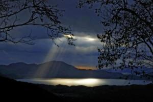 слънце след буря